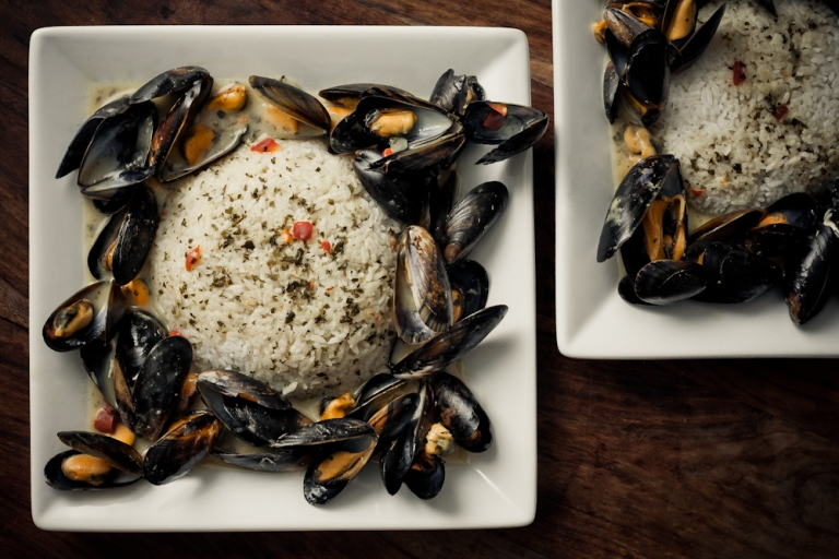 114/365 – SWEET CHILLI MUSSELS